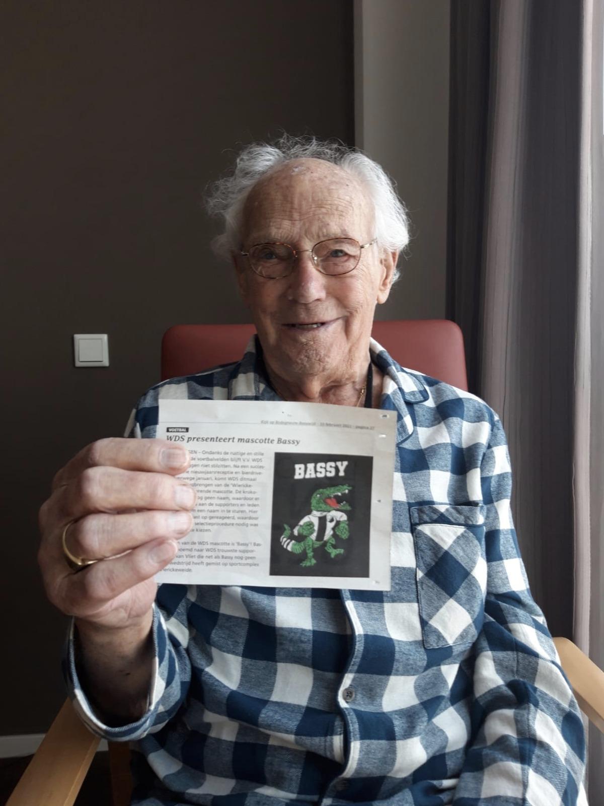 &quote;Bassy&quote; en Bas van Vliet in de krant!